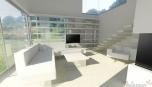 Moderní bydlení - bílá a hra světla