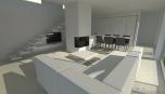 Moderní bydlení - hlavní obytná hala