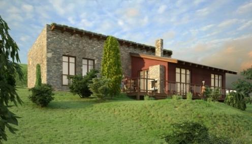 Projekt moderního roddiného domu
