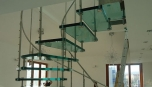 realizace interiérového schodiště