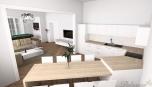 Městský byt - jídelna