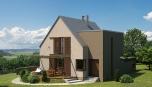 Rodinný domek - umístění v krajině