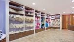 Realizace interiéru obchodu s oblečením pro miminka