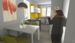 Interiér rodinného domu - kuchyně