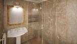 Koupelna koresponduje s interiérem bytu