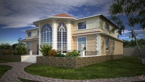 Velký dům pro rodinu