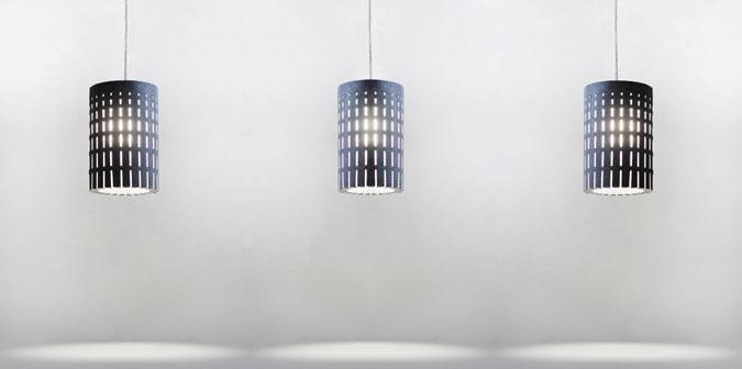 Moderní design svítidel LiCrete® Tube