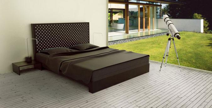 Průsvitný beton lze využít jako konstrukční prvek při výrobě designového nábytku.