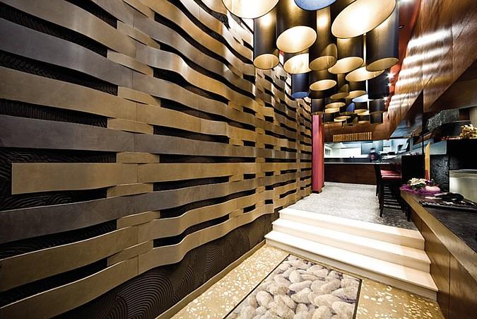 Luxusní obklad a dlažba ze série Aparici Novocemento dodává interiéru zajímavý a originální ráz