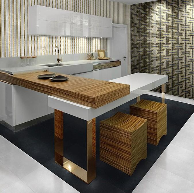 Luxusní dlažba z dílny společnosti Aparici zaujme hlavně svým čistým designem