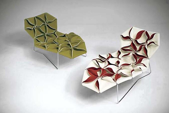Sedací nábytek je pro Patricii Urquiolu jedním z oblíbených.