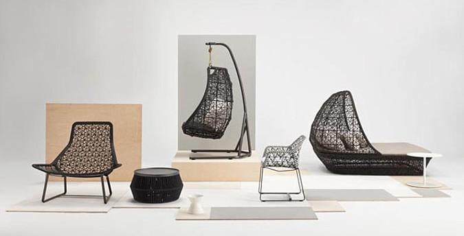 Další příklad práce Patricie Urquioly znovu potvrzuje její přehled v materiálech i požadavcích na komfortnost.