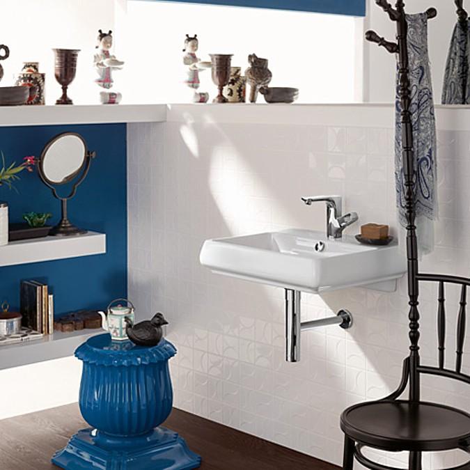 Axor Urquiola v atypické koupelně