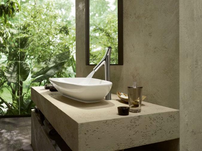 Axor Starck Organic garantuje zodpovědné využívání vody.