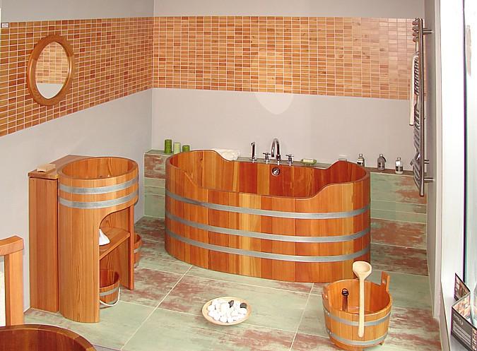 Dřevěné vany a doplňky spojí koupelnu s přírodou a poskynou tak maximální relaxaci