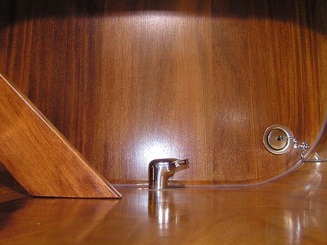 řevěná vana ošetřená kvalitní impregnací