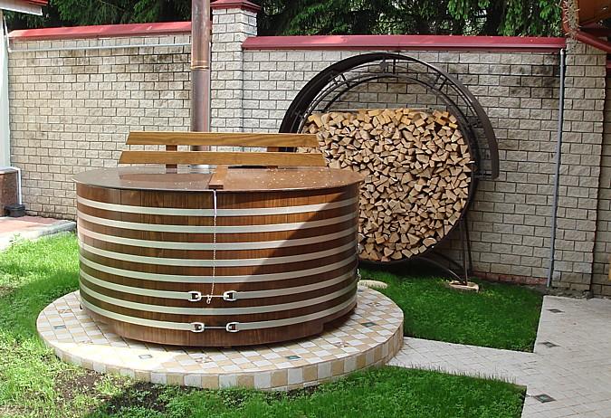 Ochlazovací bazén k sauně