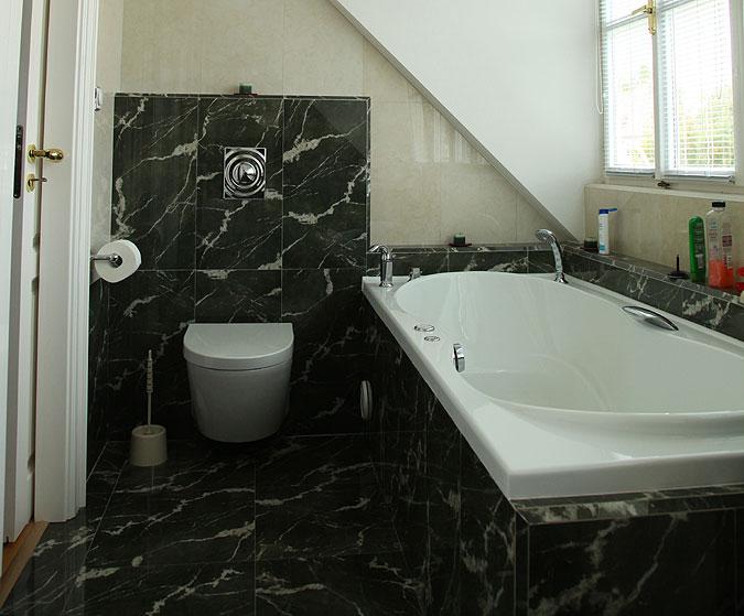 Rekonstrukce koupelny - kvalitní materiály.
