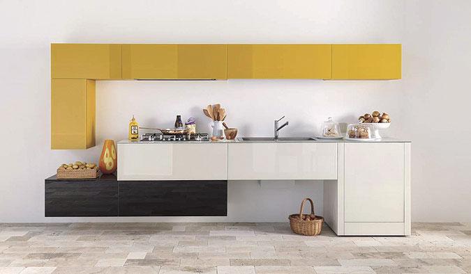 kuchyně v minimalistickém pojetí