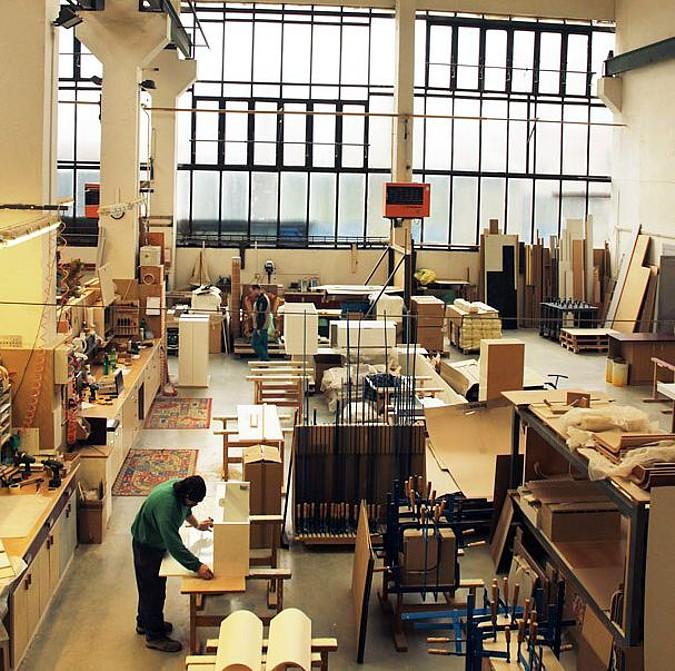 Výrobní hala společnosti Lebon