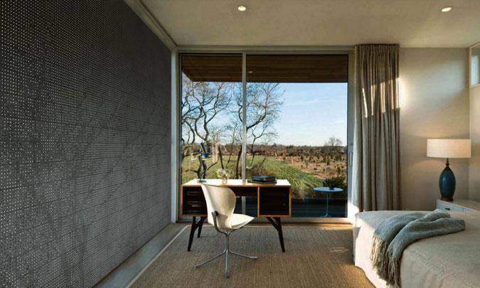 Průhledný beton lze využít jako velmi efektní prvek do moderního interiéru.