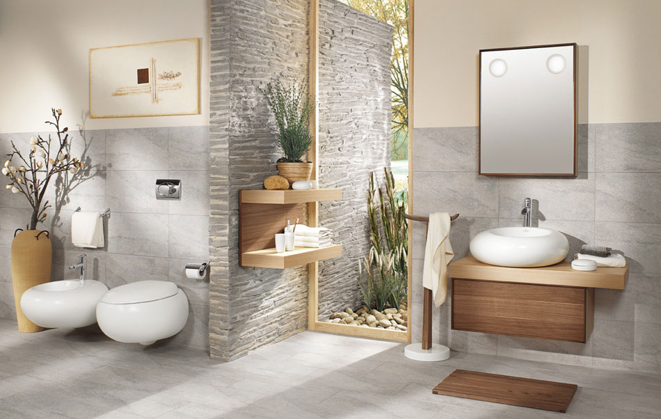 koupelna v designu nature