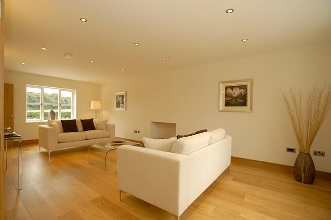 Čistý prostor za použití vytápění podlahou