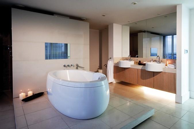 Podlahové vytápění v koupelně