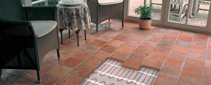 Podlahová krytina na podlahové vytápění