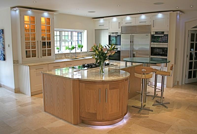 Moderní zrekonstruovaná kuchyně