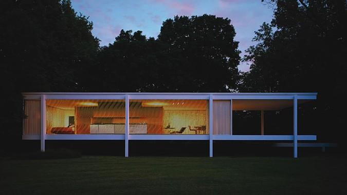 Použití Skleněné stěny na zajímavě řešený povrch domu