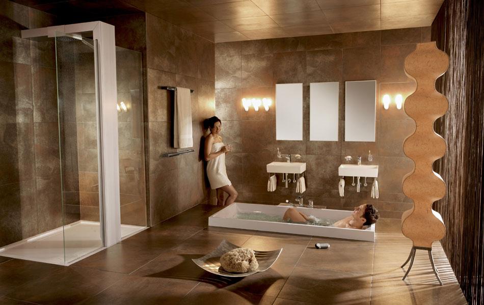 výřivka Villeroy & Boch luxusní koupelna