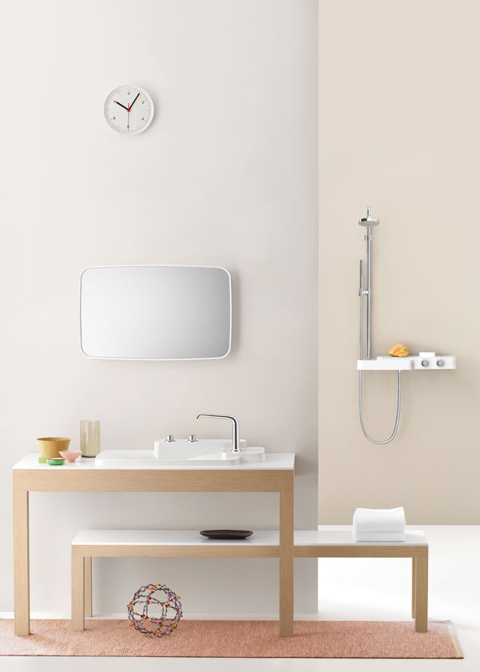 Axor Bouroullec vám přináší možnost vytvořit co nejvíce osobní koupelnu všech dob.