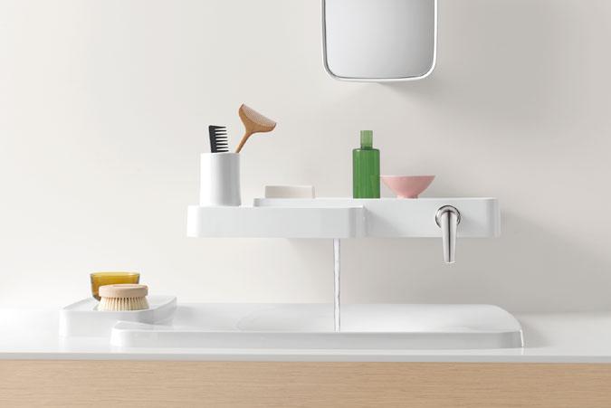 Axor Bouroullec je kolekce obsahující více než 70 produktů pro koupelnu.