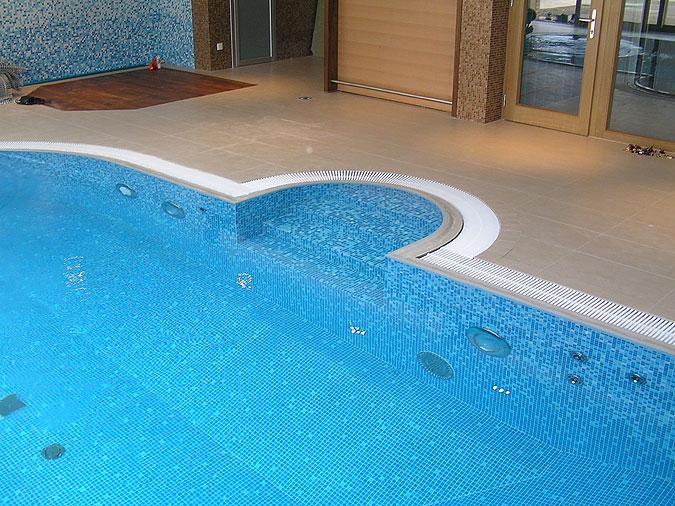 Bazén mozaika