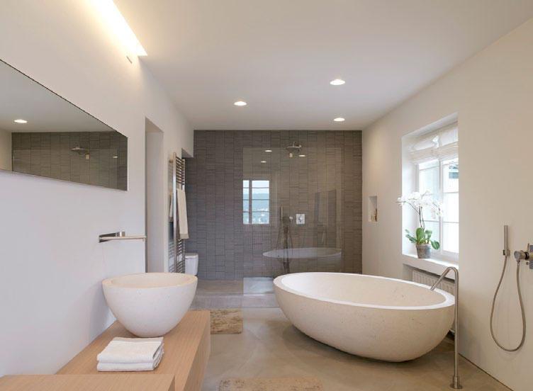 koupelna s využitím produktů Boffi