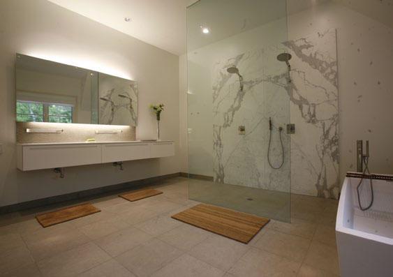 Příkladné využití koupelnových produktů Boffi