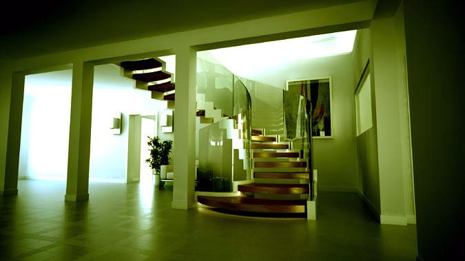 I v menší variantě je schodiště dostatečně robustní a odolné.