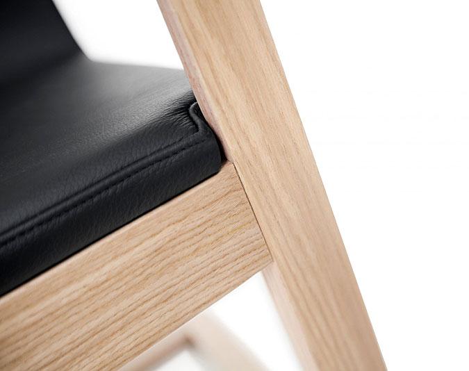 Detail designového vybavení interiéru.