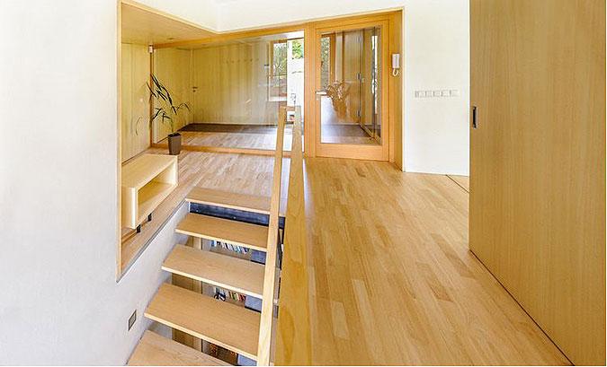 Design interéru řeší architekt jako celek.