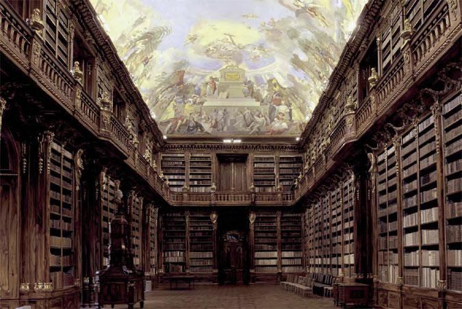 Nasvícení knihovny Strahovského kláštera produkty Mizar