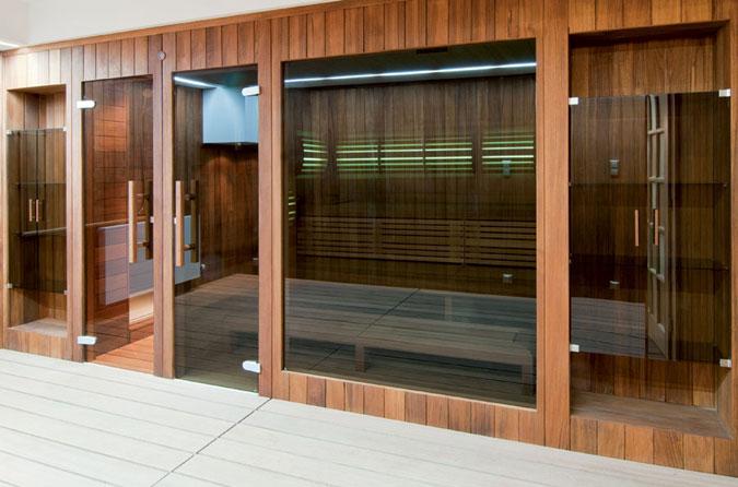 Designová sauna se přizpůsobí dokonale stylu Vašeho domova.
