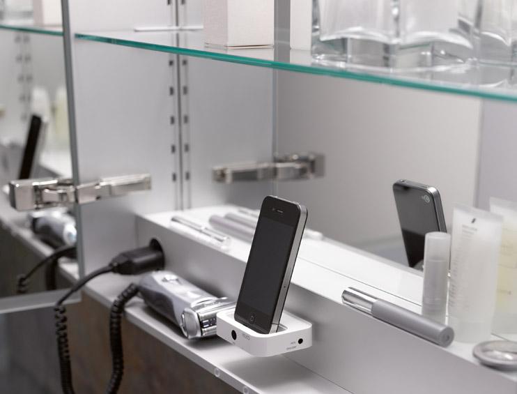 moderní koupelna s KEUCO
