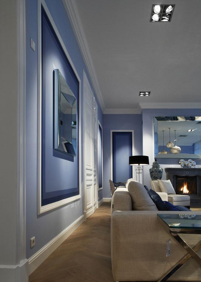 Využitím různých profilů liště a barev lze dosáhnout stylového domova.