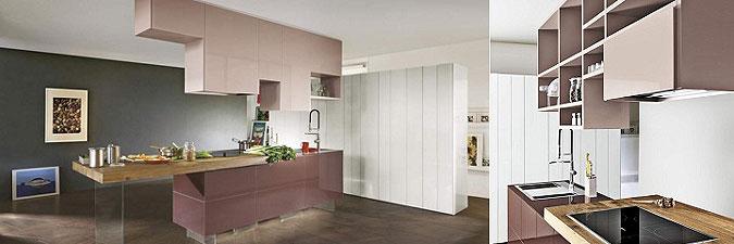Kuchyň jako stalaktit nebo stalagmit