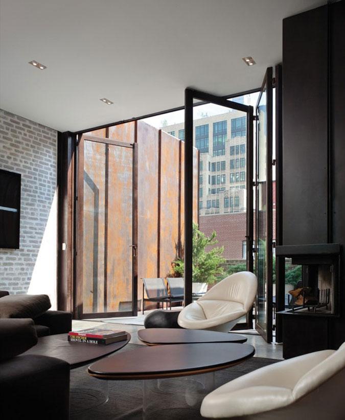 Byt je rozhodně luxusní svou prostorností.