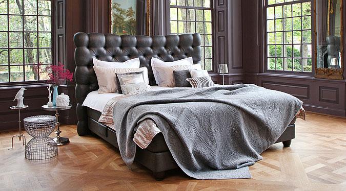 Luxusní postel Kuperus Capita.