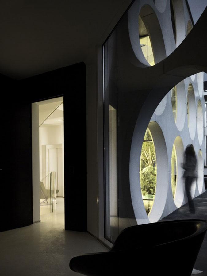 moderní architektura, moderní dům. minimalismus