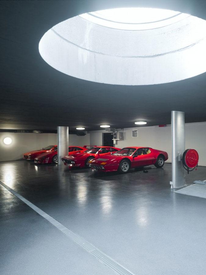 Luxusní garáž.