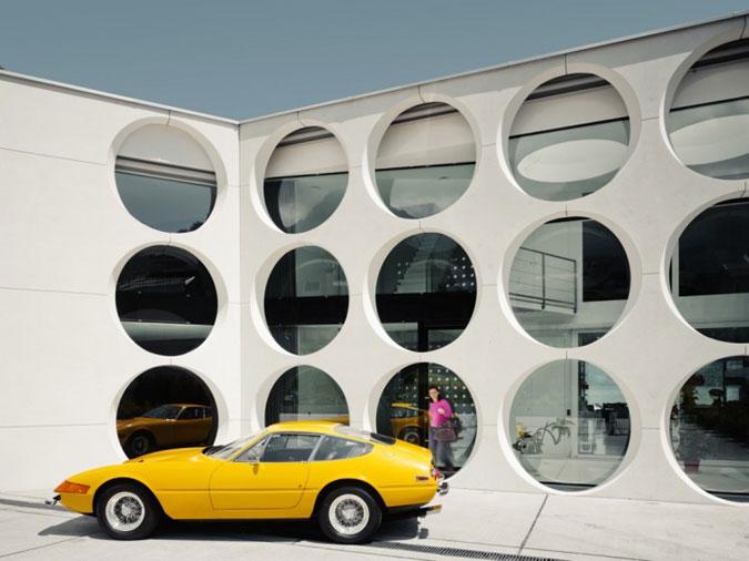 Dům, v němž se setkává moderní umění a moderní technologie.